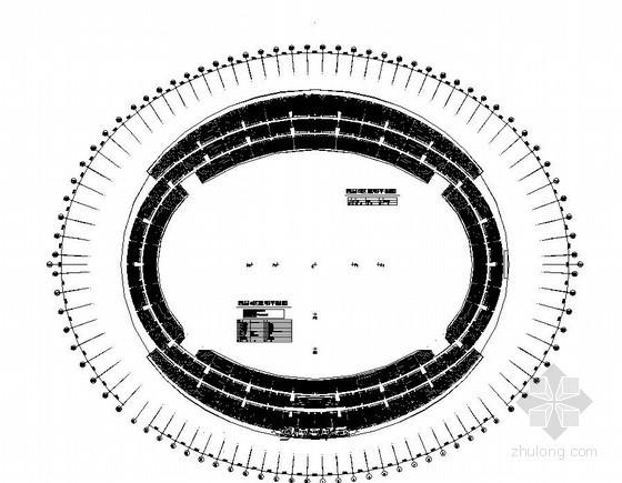 湖南某体育中心全套电气施工图