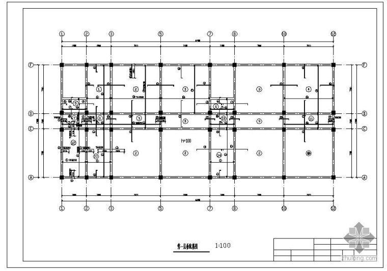 [学士]某六层公寓宿舍楼毕业设计(含计算书、部分建筑结构设计图)_4