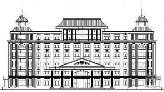 某欧式七层医院诊疗楼建筑施工图