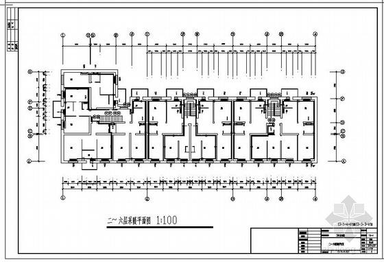 三栋住宅楼采暖改造工程图