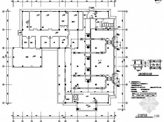 VRV空调酒店资料下载-某宾馆VRV空调系统图纸