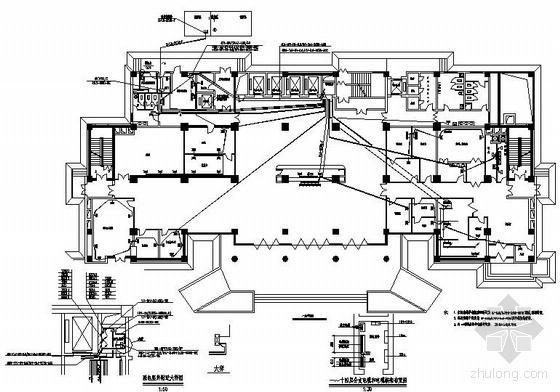 医院治疗楼电气设计图