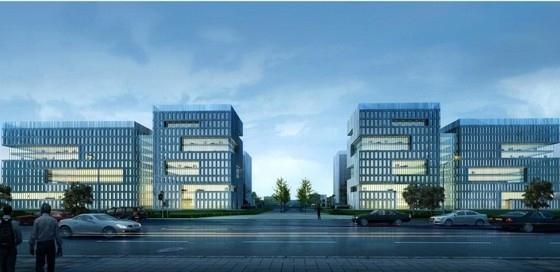 [杭州]现代多样化高层办公楼建筑设计方案文本