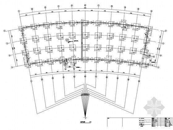 [辽宁]地上二层框架结构商业区结构施工图