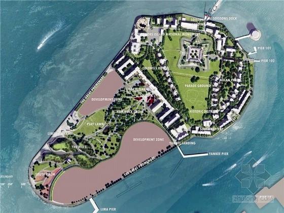 [美国]观光历史性岛屿公园生态景观设计方案