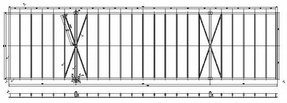 钢结构活动房结构施工图