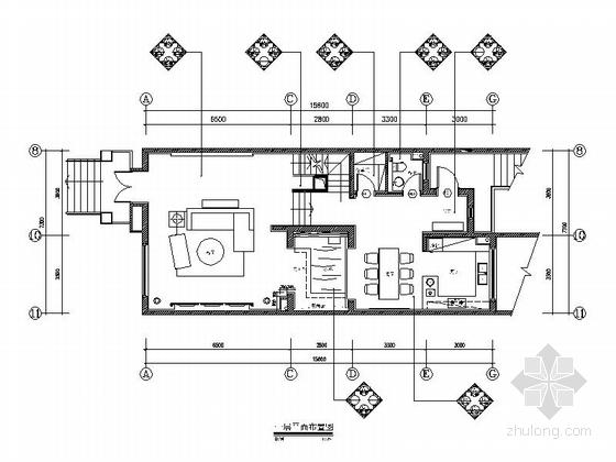 [西安]知名地产集团豪华社区三层别墅样板间室内装修图(含实景图)