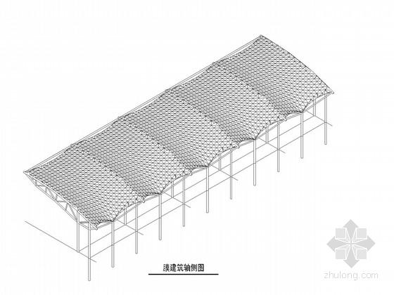 体育场看台膜结构施工图