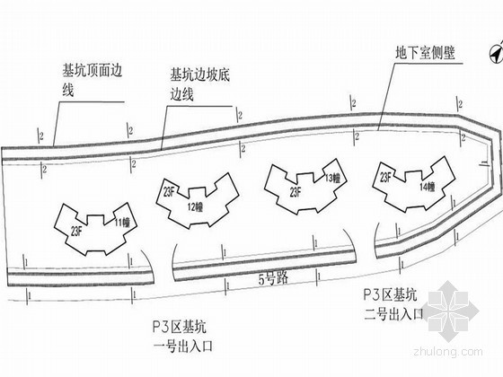 [广东]地下车库基坑挂网喷锚支护及降水施工方案