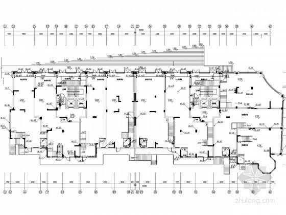 [江西]二类高层住宅楼给排水消防施工图