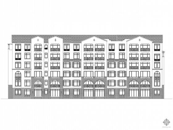 [吉林]某小区48号楼建筑施工图