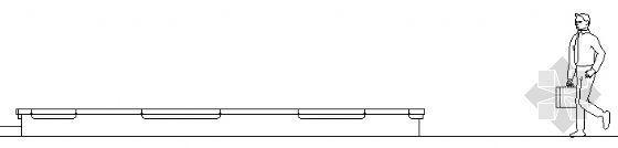 圆形花坛结构图