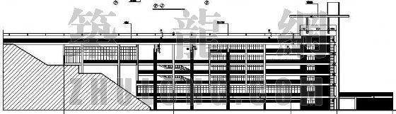 某带有屋顶运动场的综合楼建筑设计方案