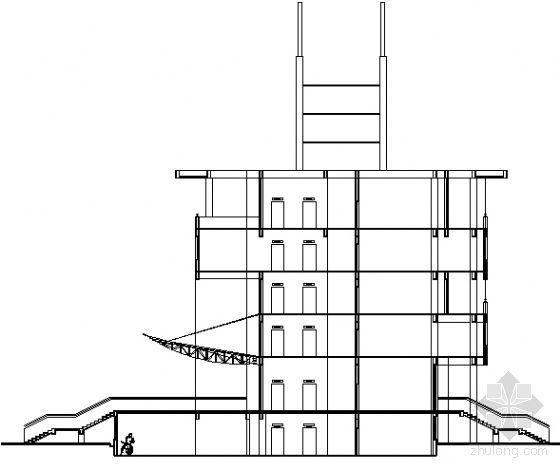 某路桥区预备役营房建筑设计方案