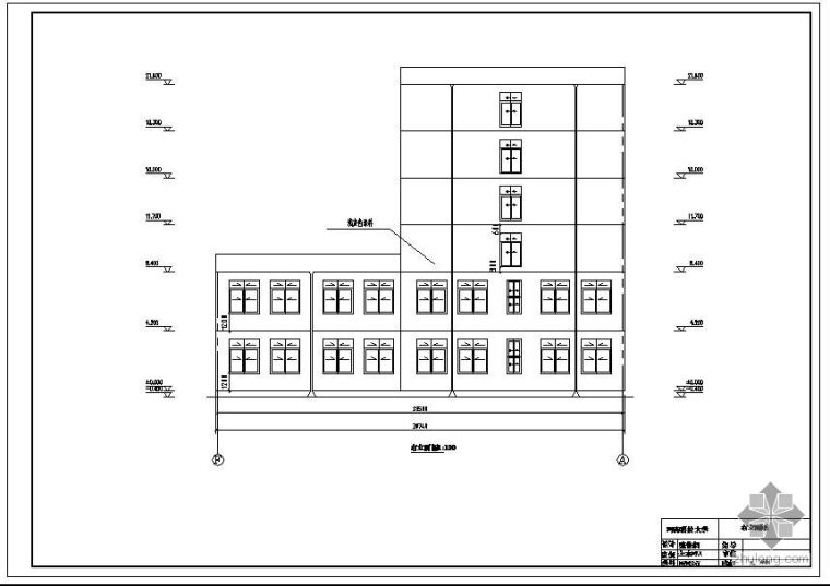 [学士]洛阳市某设计院综合办公楼毕业设计