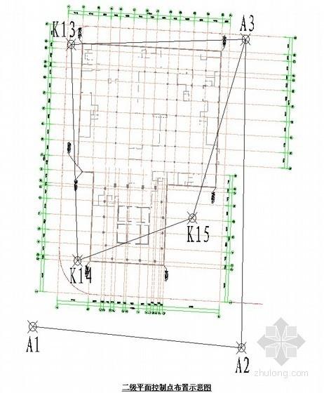 [广东]办公楼工程测量施工方案(附图)