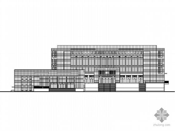 [四川]某市五层政务服务中心建筑施工图