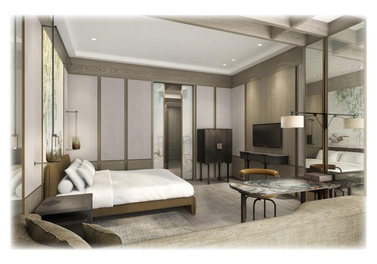 Yabu-深圳平安金融大厦-平安柏悦酒店概念设计方案文本(JPG28张)
