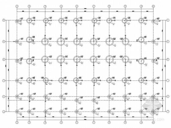 筒体结构办公楼结构施工图