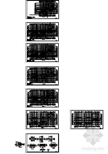 某十二层住宅楼(香榭里)建筑方案图-4
