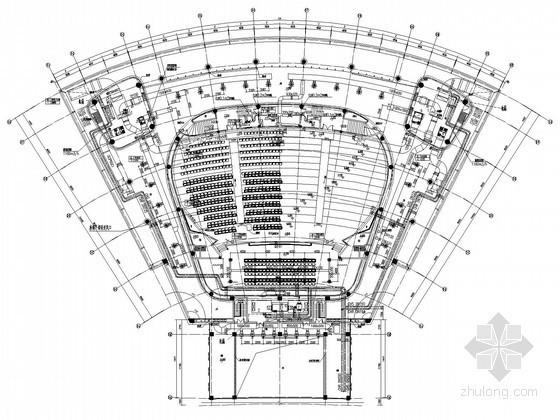 [江苏]教育学习中心空调通风及防排烟系统设计施工图(座椅送风)