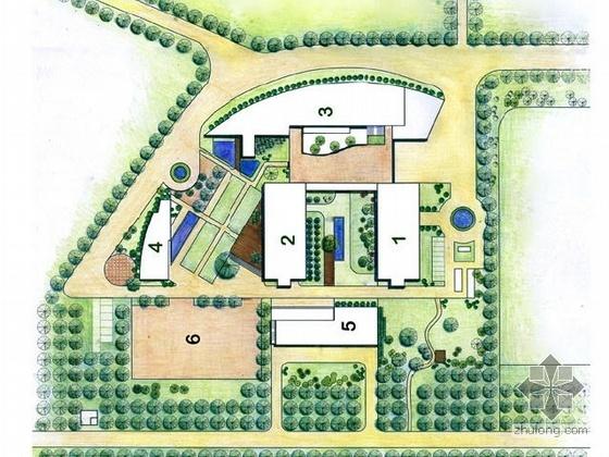 大学校园景观设计方案