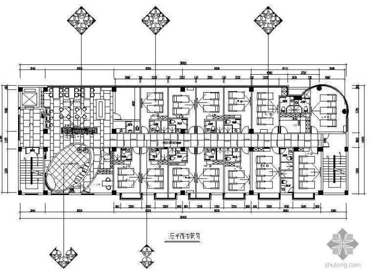 [福建]某足按馆室内装修施工图