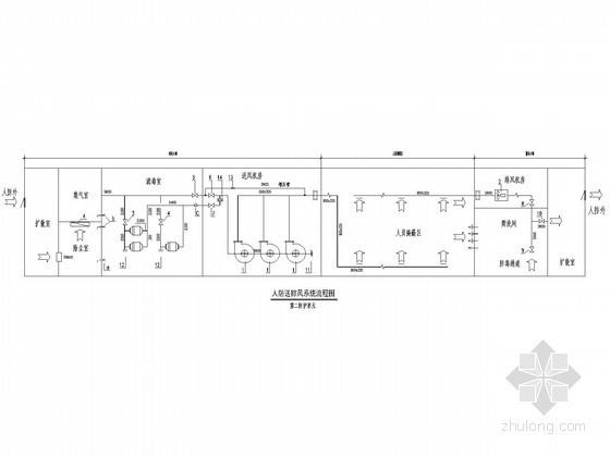 [浙江]高层住宅楼通风系统设计施工图