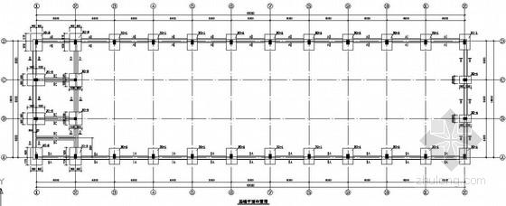 18米跨单层厂房钢结构施工图[带吊车梁局部框架]