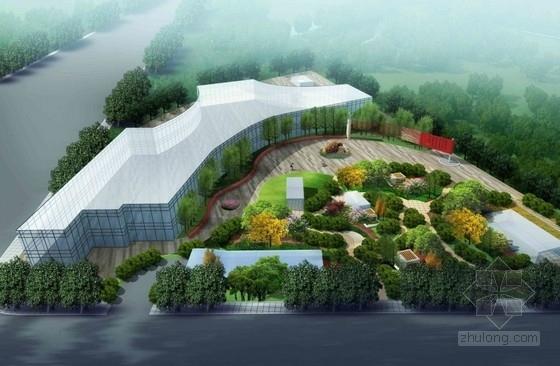 [西安]地铁周边环境及停车场景观绿化工程规划设计方案(包含五个设计方案)