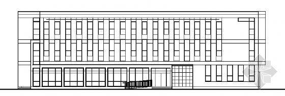三层办公楼建筑施工图