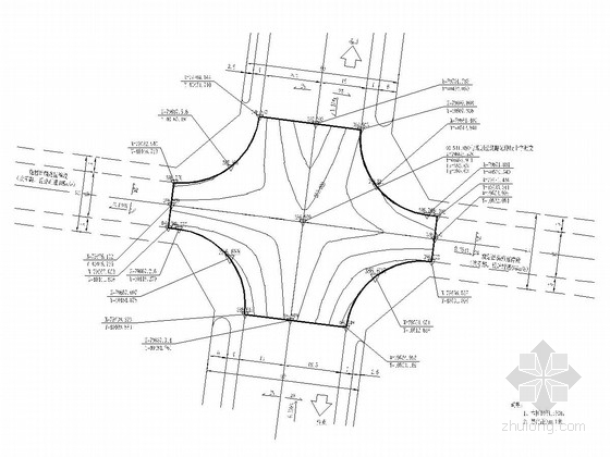 [四川]城市景观大道道路工程施工图设计139张(含涵洞)