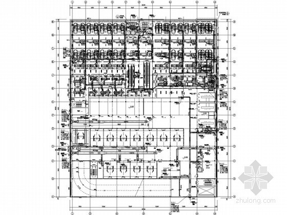 [深圳]4S店空调通风设计施工图(施工节点图较多)