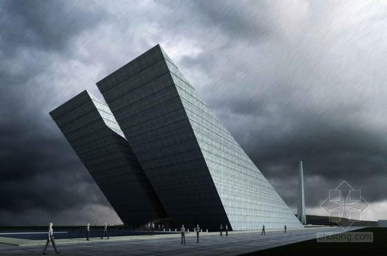 [合肥]某四层纪念馆建筑方案文本(含CAD、多媒体)