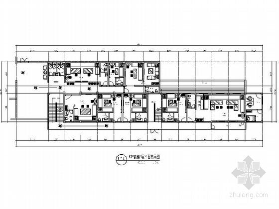 [安徽]某演艺吧副楼KTV室内装修施工图(含效果)