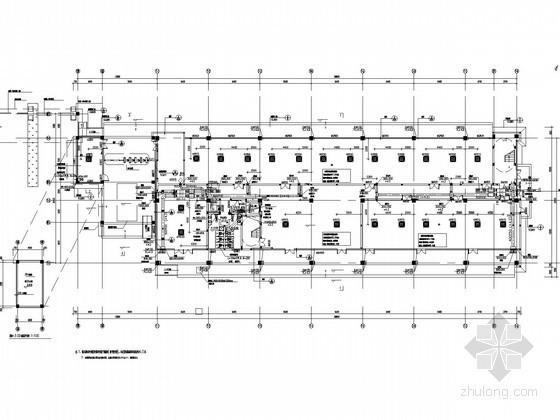 [湖北]现代综合物流港空调通风及防排烟系统设计施工图