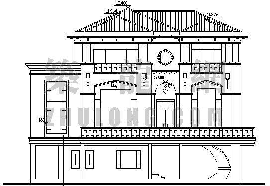 多层别墅施工图