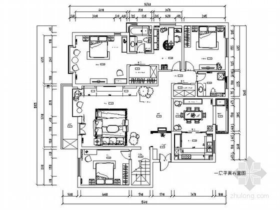 [鄂尔多斯]混搭跃层室内装修图