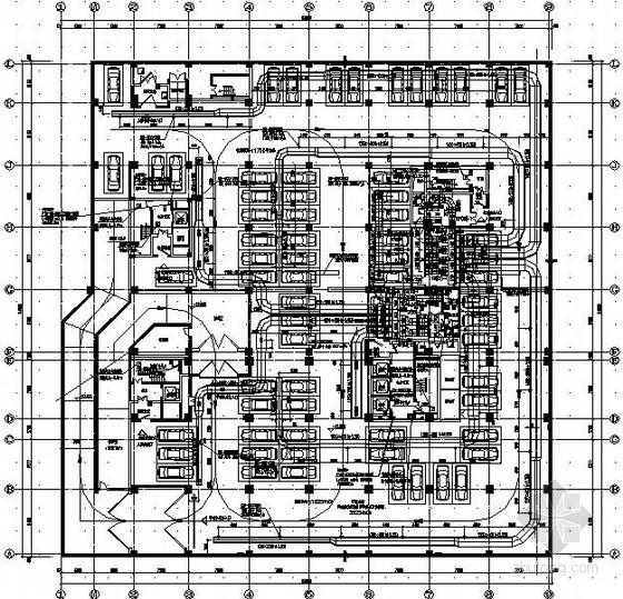 [北京]某高层办公楼暖通全套施工图