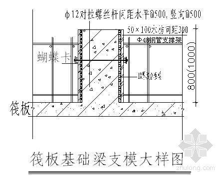 重庆某高速公路收费站基础施工方案