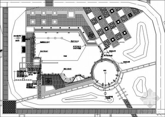 深圳某游泳池设计方案图纸