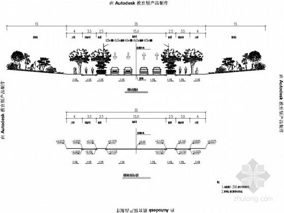 2013年市政道路施工图初步设计(甲级院 排水箱涵)