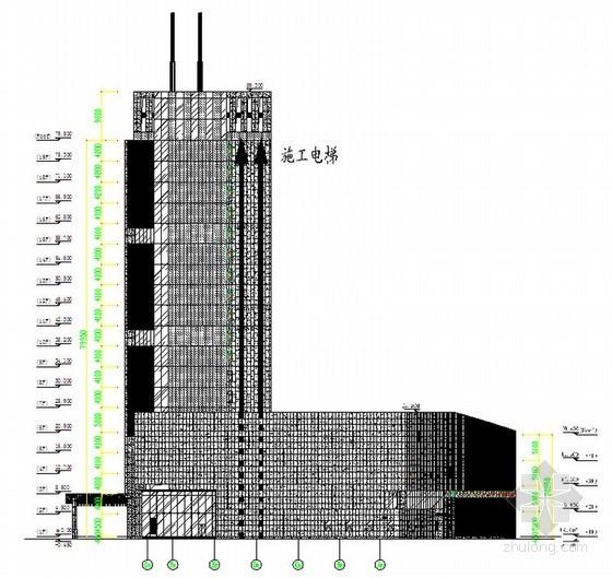 [江苏]框剪结构传媒中心工程幕墙施工方案(50页)