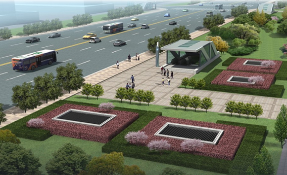 BIM技术应用于宁波市轨道交通3号线一期高塘桥站