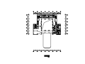 某一字型大型酒店建筑平面图