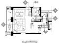 [广东]现代奢华风格样板房CAD施工图(含效果图)