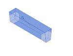 切割端点的预制圆锥体形梁