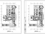 某1000平米中餐厅室内装修装饰设计竣工图(90张)