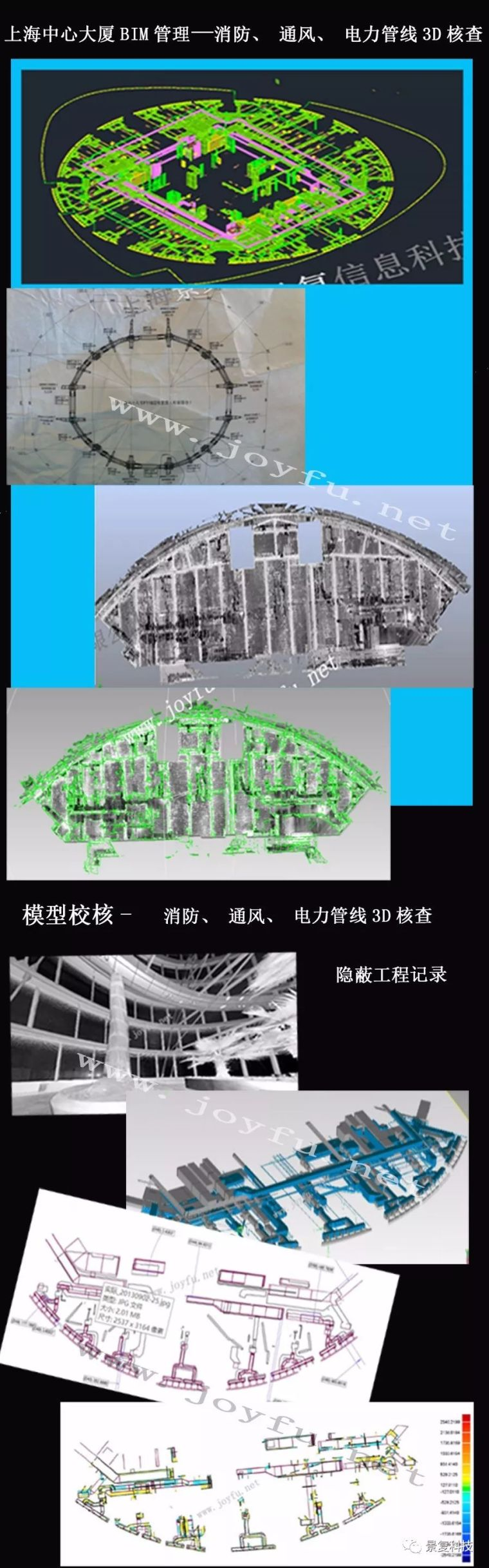 案例——上海中心大厦BIM管理及模型校核
