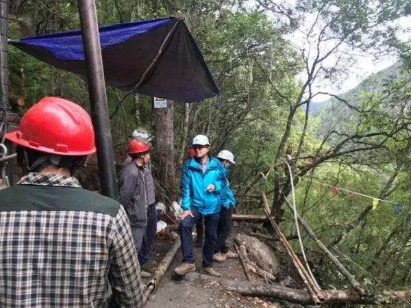 [安全生产]地质分院对三岔河水库工程勘察现场进行综合检查